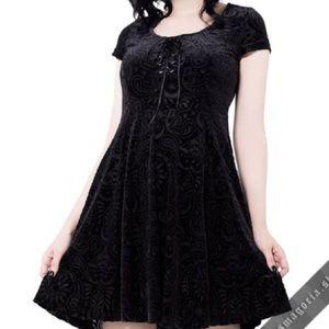 FINAL PRICE Killstar Angelyn burnout dress